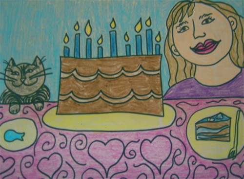 birthday for cat and me