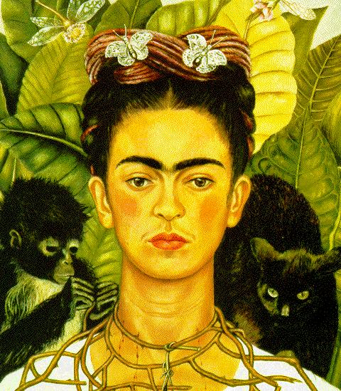 portrait of frida